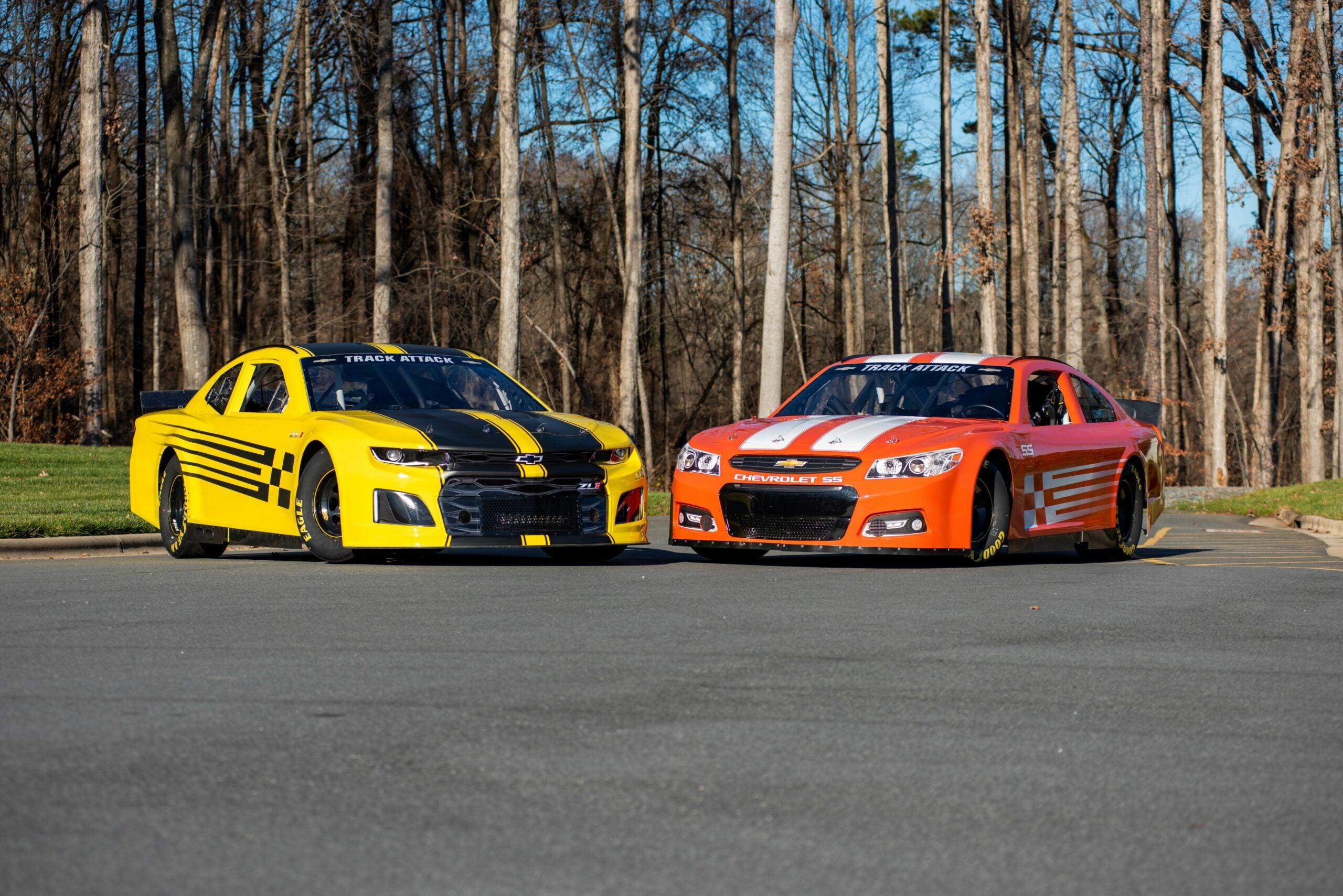 Hendrick Motorsports track attack cars