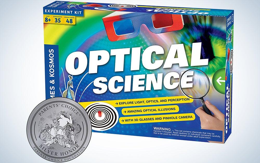Thames and Kosmos Optical Science Kit