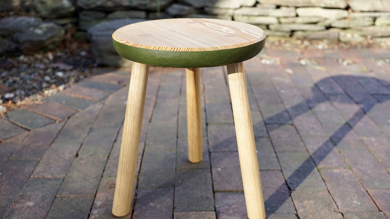 Build the three-legged stool you didn't know your home needed