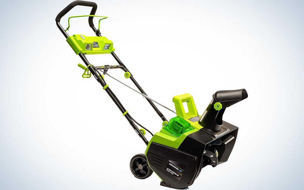 Earthwise 22-Inch 40-Volt Cordless Electric Snow Thrower