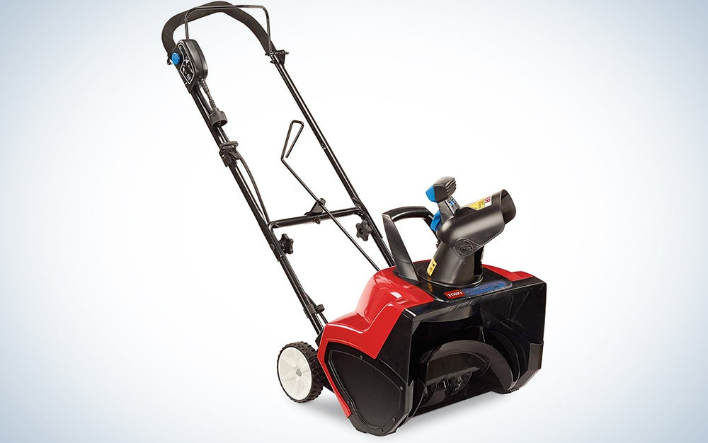 Toro 18-Inch 15 Amp Electric 1800 Power Curve Snow Blower