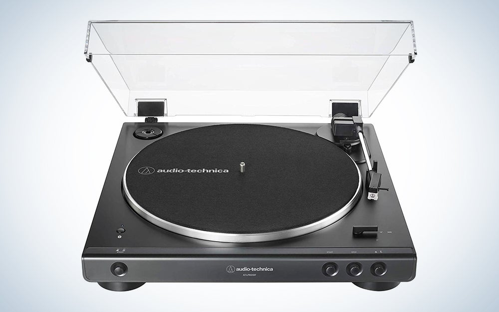 Audio-Technica AT-LP60XBT-BK Fully Automatic Bluetooth Stereo Turntable