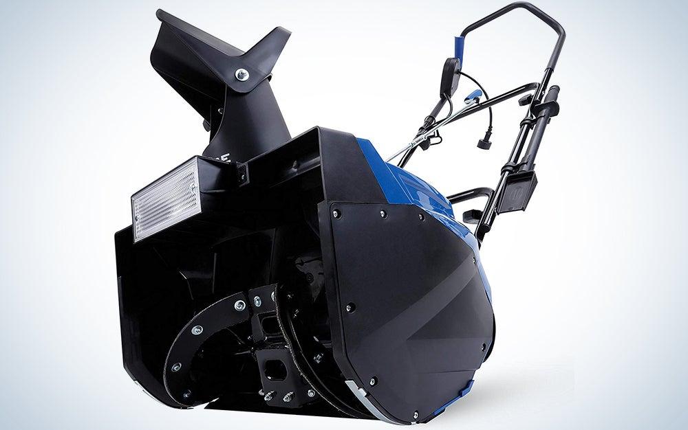 Snow Joe SJ625E Electric Single Stage Snow Thrower   21-Inch   15 Amp Motor