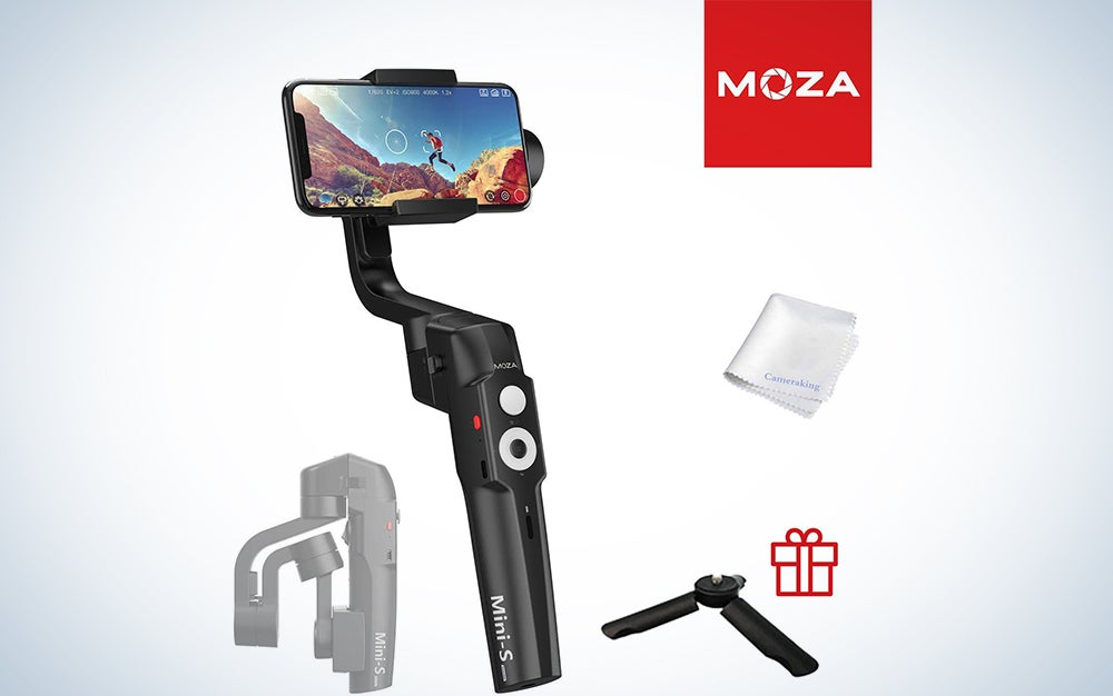 MOZA Mini-S Essential Foldable Gimbal stabilizer