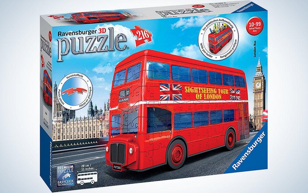 Ravensburger London Bus 3D Jigsaw Puzzle