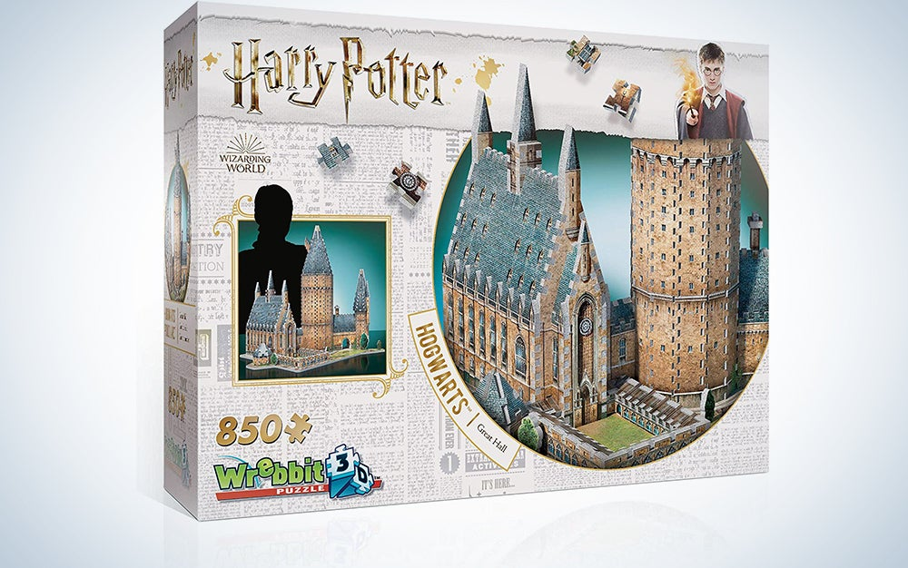 WREBBIT 3D - Harry Potter Hogwarts Great Hall 3D Jigsaw Puzzle