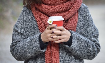 Scarves to warm you up in-season and between seasons