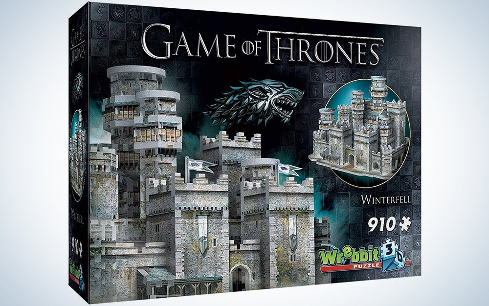 Wrebbit 3D - Game of Thrones Winterfell 3D Jigsaw Puzzle