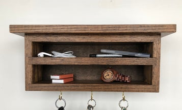 It's not too late to build Dad a homemade Father's Day gift
