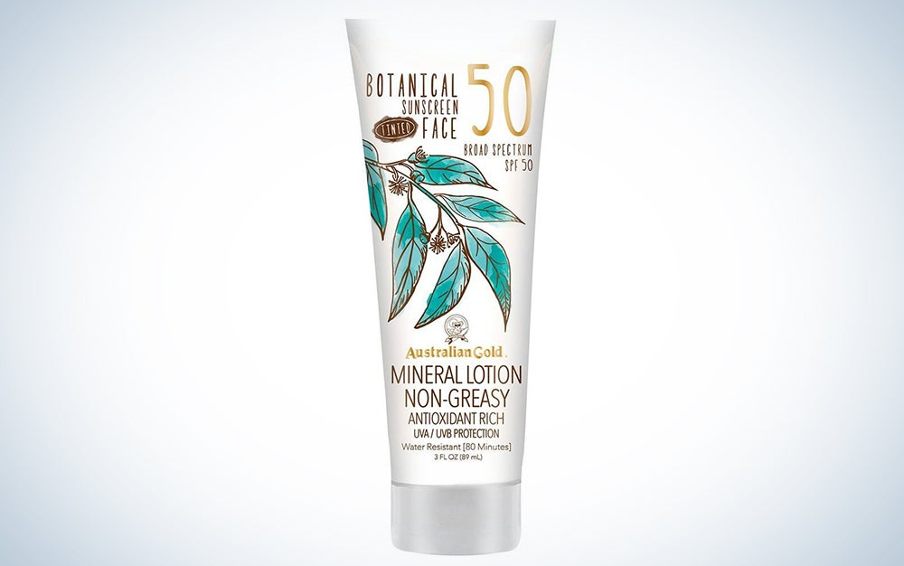 Australian Gold SPF 50 Tinted Face Lotion