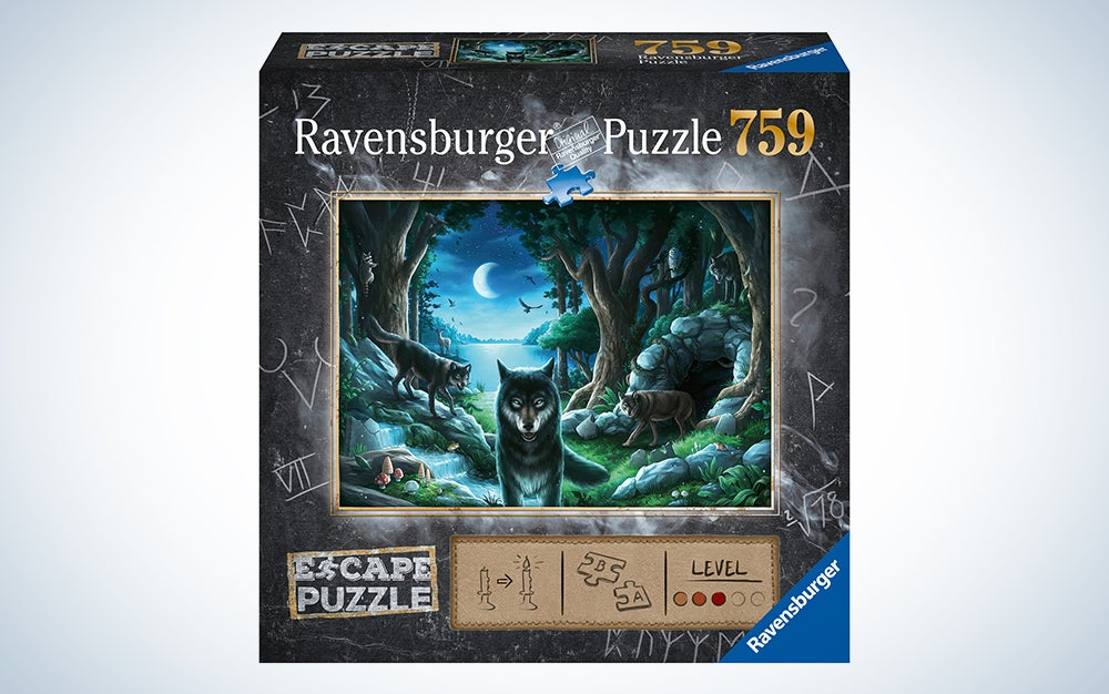Ravensburger Curse of The Wolves Jigsaw Puzzle