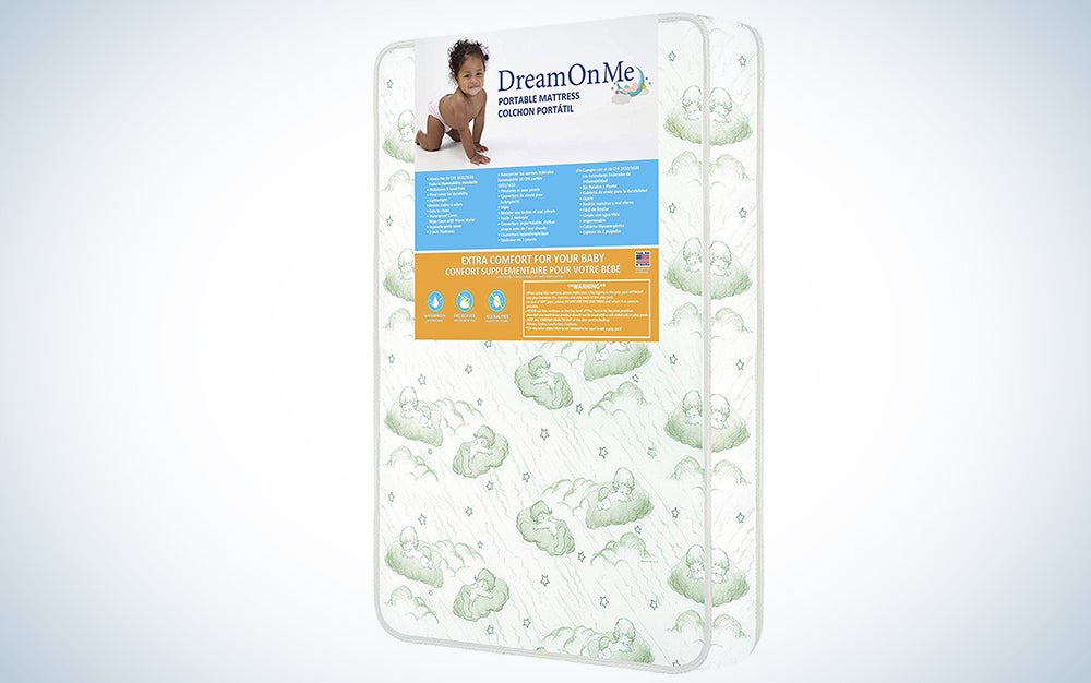 Dream On Me 3-Inch Playard Mattress