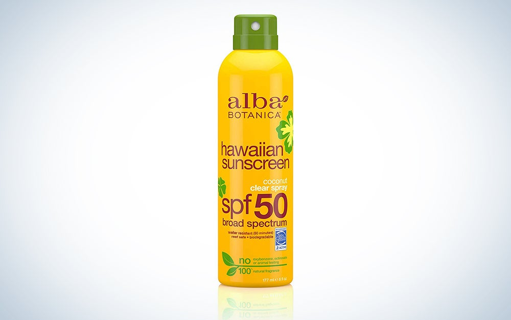 Alba Botanica Coconut Oil Hawaiian Clear Spray SPF 50 Sunscreen