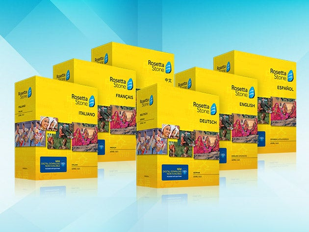 Rosetta Stone Language Box Set