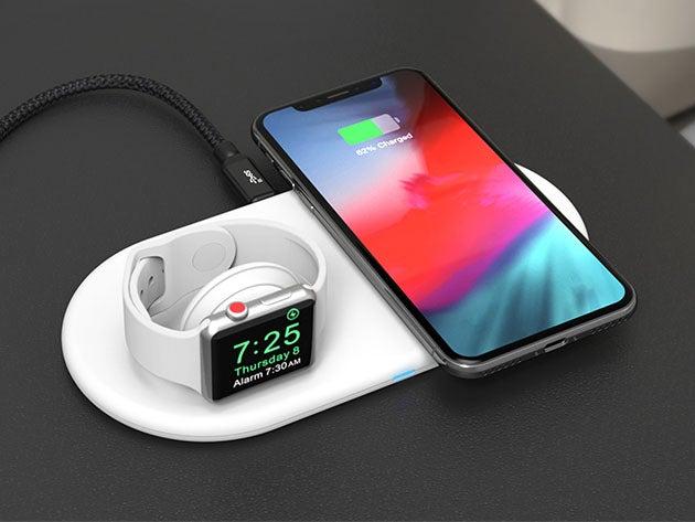 OMNIA Q2 True Wireless 2+1 Fast Charging Stand