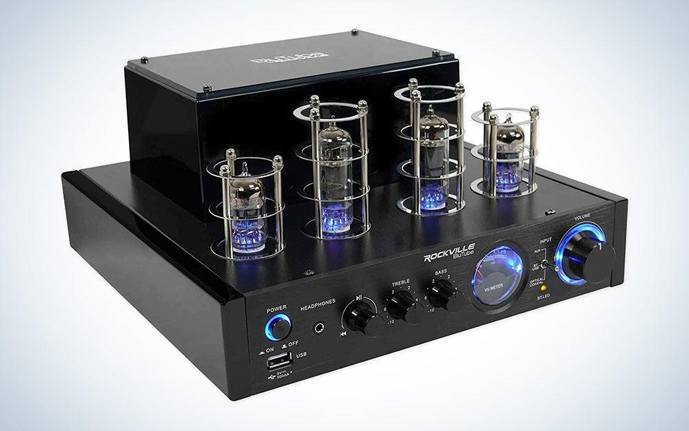 Rockville BluTube LED Amplifier/Stereo Receiver