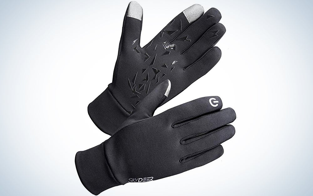 Skydeer Men's and Women's Lightweight and Thermal Winter Running Gloves Line