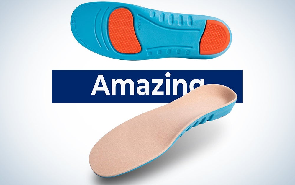 Sport Inserts Gel High Arch Support Shock Absorption Athlete Insoles