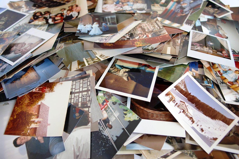 Pile of print photos