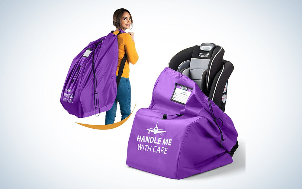 Car Seat Travel Bag Backpack for Gate Check Bag