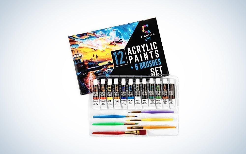 Creative Joy Acrylic Paint Set