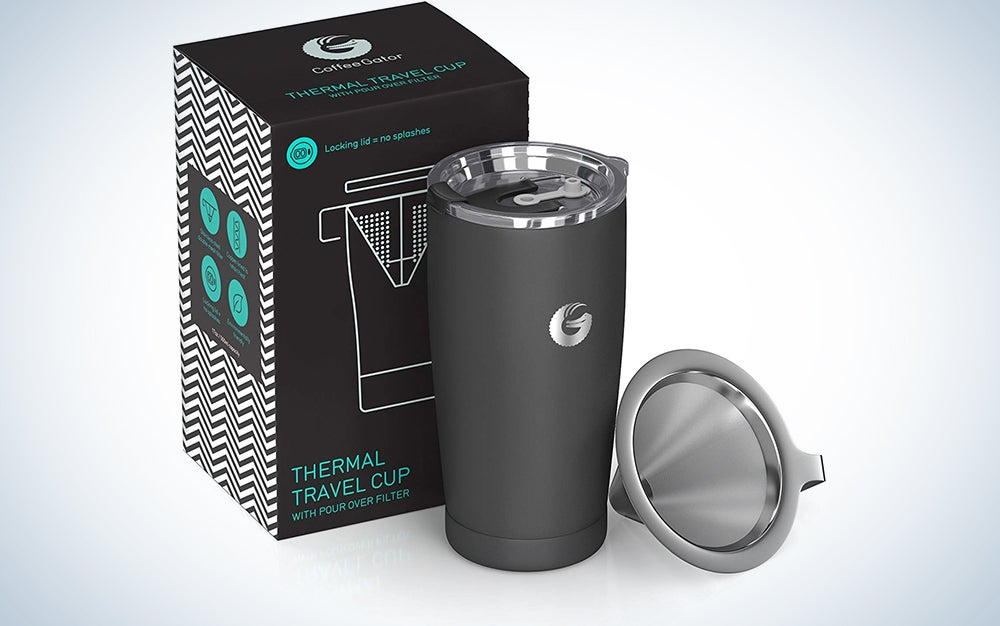 Coffee Gator Pour Over Coffee Travel Mug
