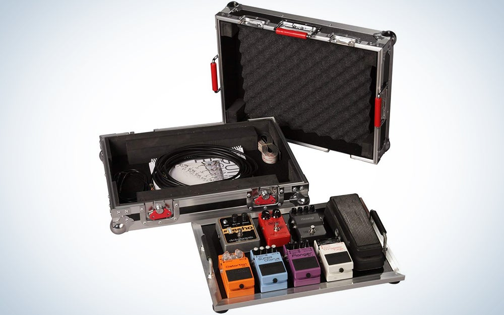 Gator Cases G-TOUR Series Guitar Pedal Board with ATA Road Case