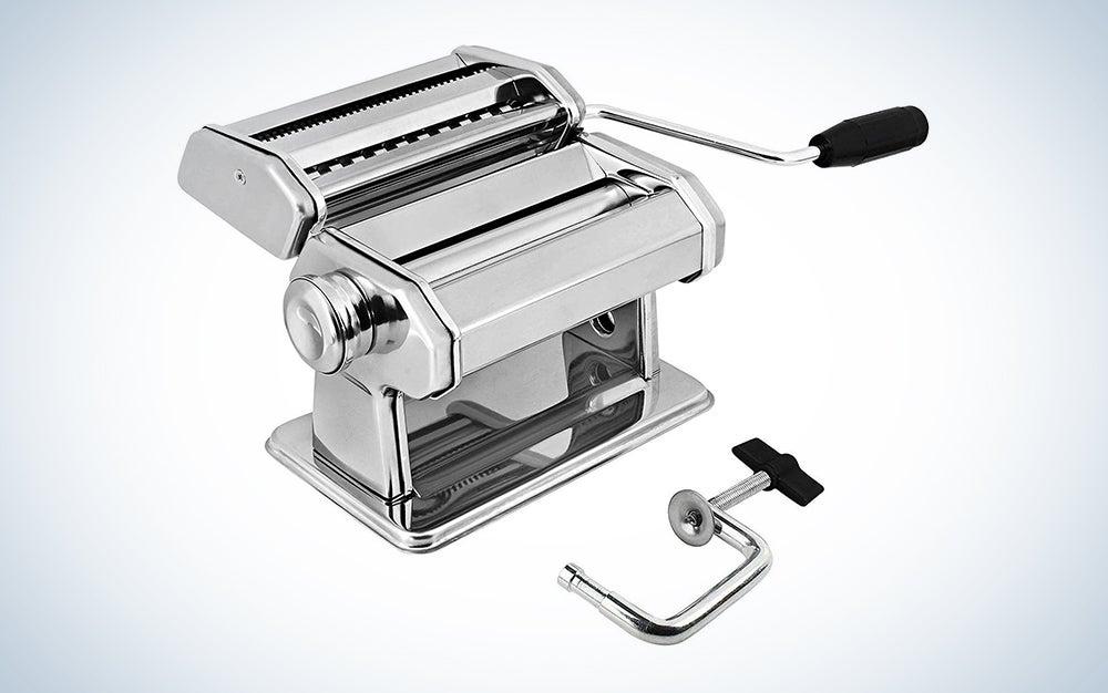Gourmex Stainless Steel Manual Pasta Maker Machine