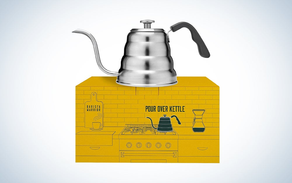 Pour Over Gooseneck Kettle with Thermometer