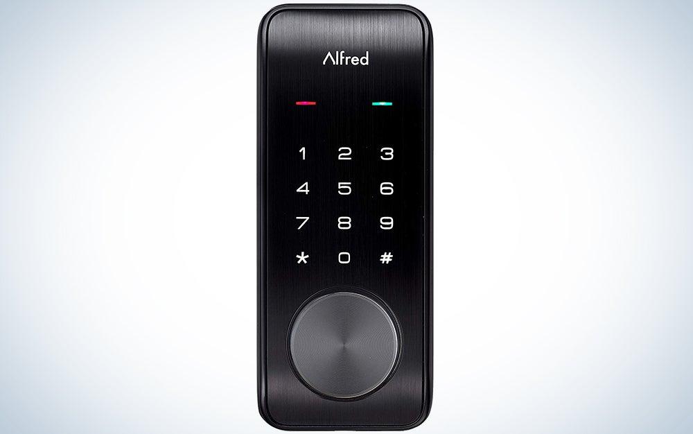 Alfred DB2-B Smart Door Lock Deadbolt Touchscreen Keypad