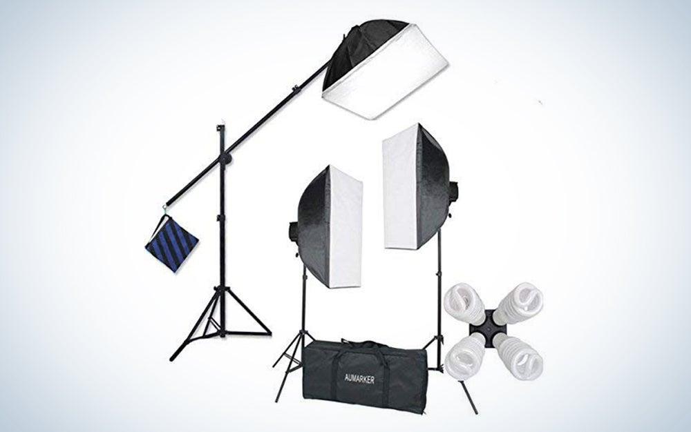 StudioFX Softbox Continuous Photo Lighting Kit