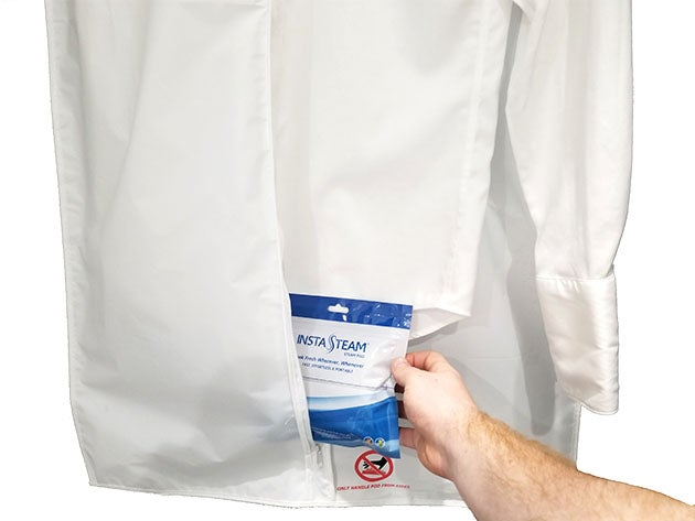 InstaSteam Electricity-Free Clothing Steamer