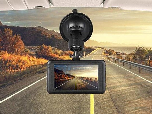 Black Box 1080p Dashcam