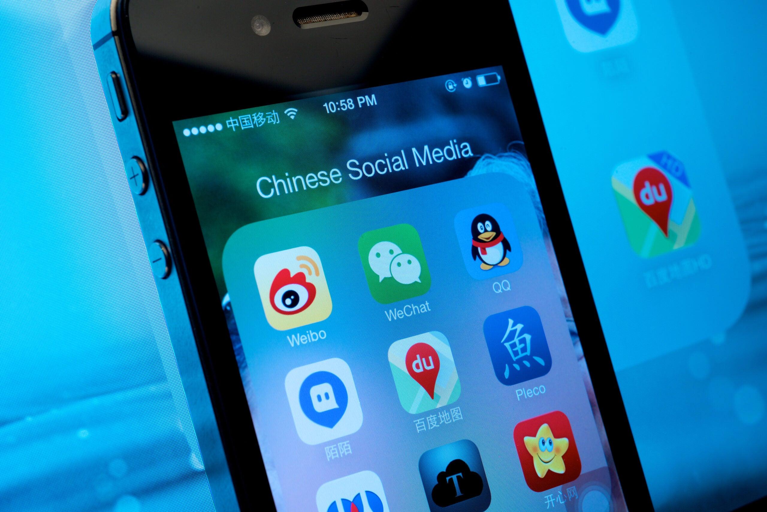 China WeChat Weibo