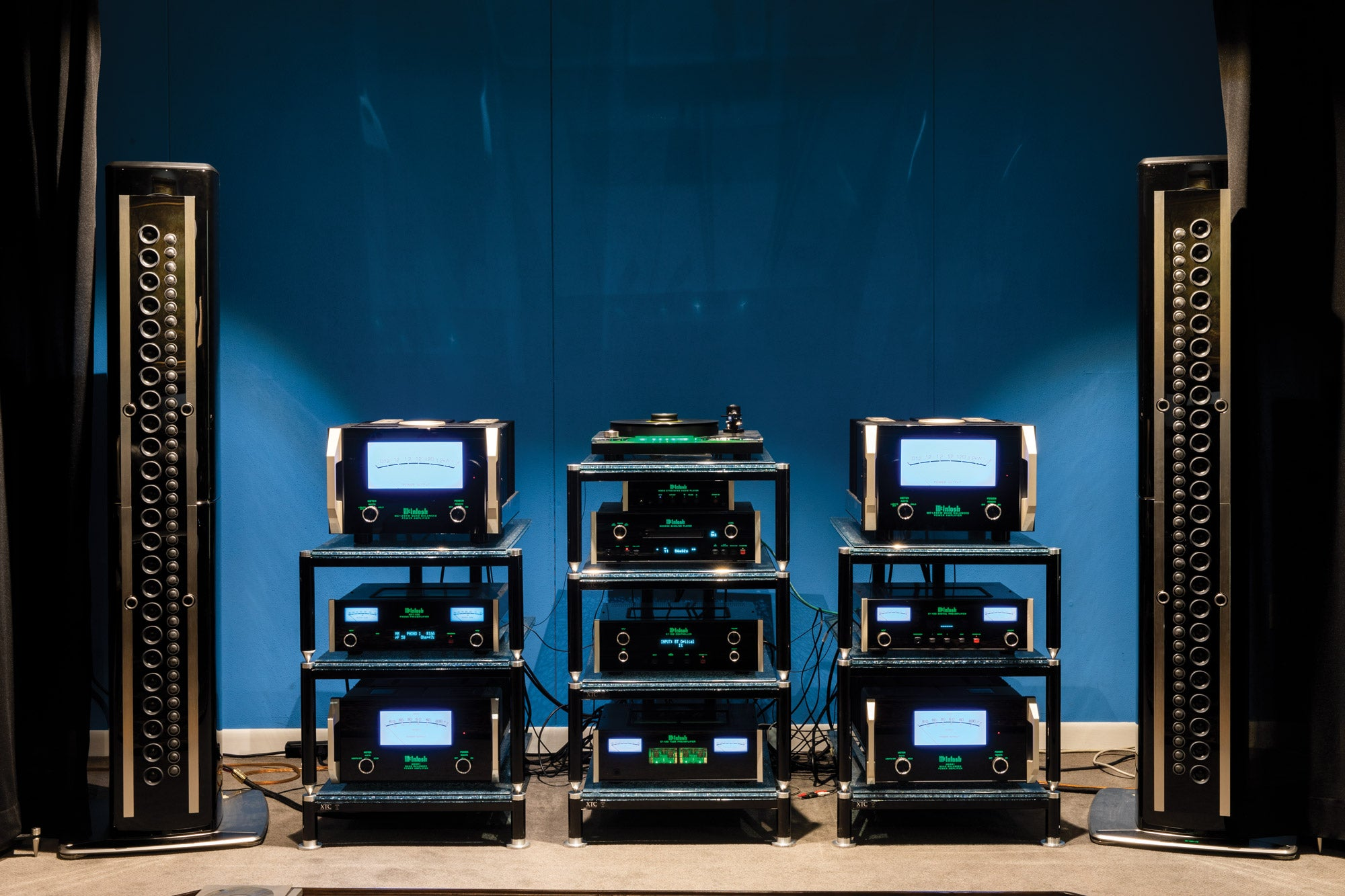 McIntosh sound equipment