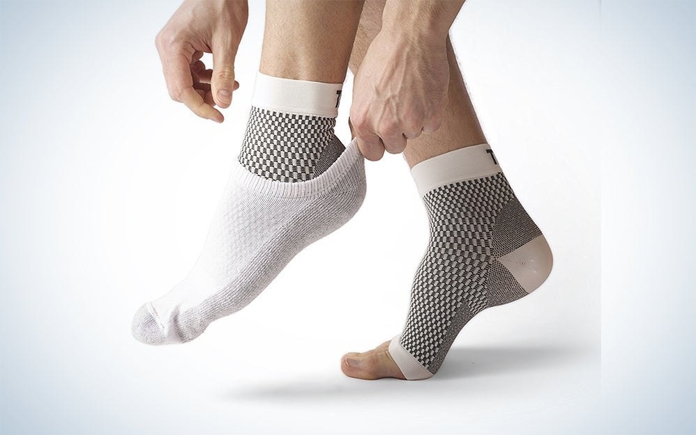Plantar Fasciitis Socks Foot Sleeve & Compression Socks: Ankle & Arch Support - Edema Relief Orthopedic Socks for Men & Women - Fit Guaranteed by Treat My Feet