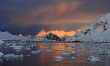 Antarctica is hotter today than it's ever been