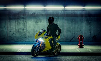 This 200-mph electric motorcycle will try to stop accidents before they happen