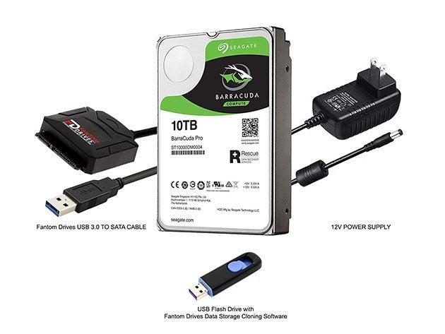 Seagate BarraCuda Pro 10TB Internal HDD Upgrade Kit