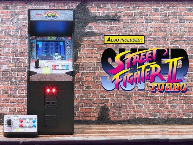 Street Fighter II: Champion Edition X RepliCade 1:6 Scale Arcade Machine