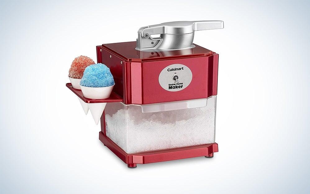 Nostalgia SCM525WH Vintage Countertop Snow Cone Maker