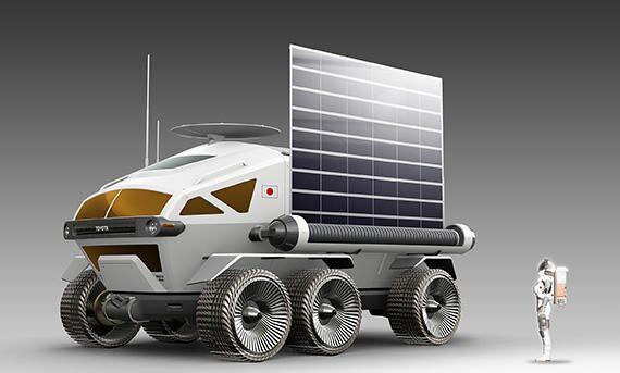 JAXA Toyota Bridgestone rover