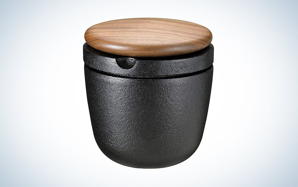 Skeppshult Cast Iron and Wood Pepper Mill and Spice Grinder