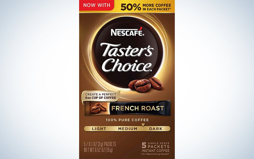 Nescafe Taster's Choice Instant Coffee, French Roast
