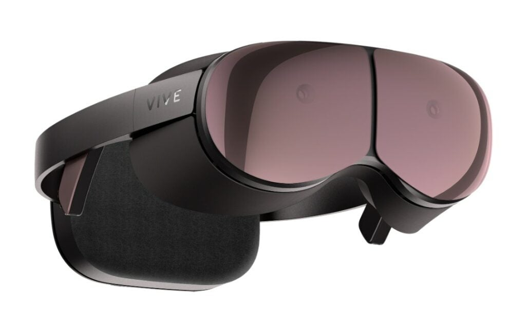 HTC Proton VR headset with computer.