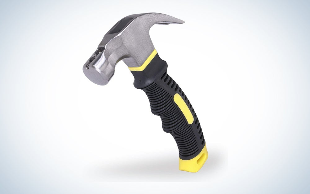 Efficere Stubby Claw Hammer with Magnetic Nail Starter