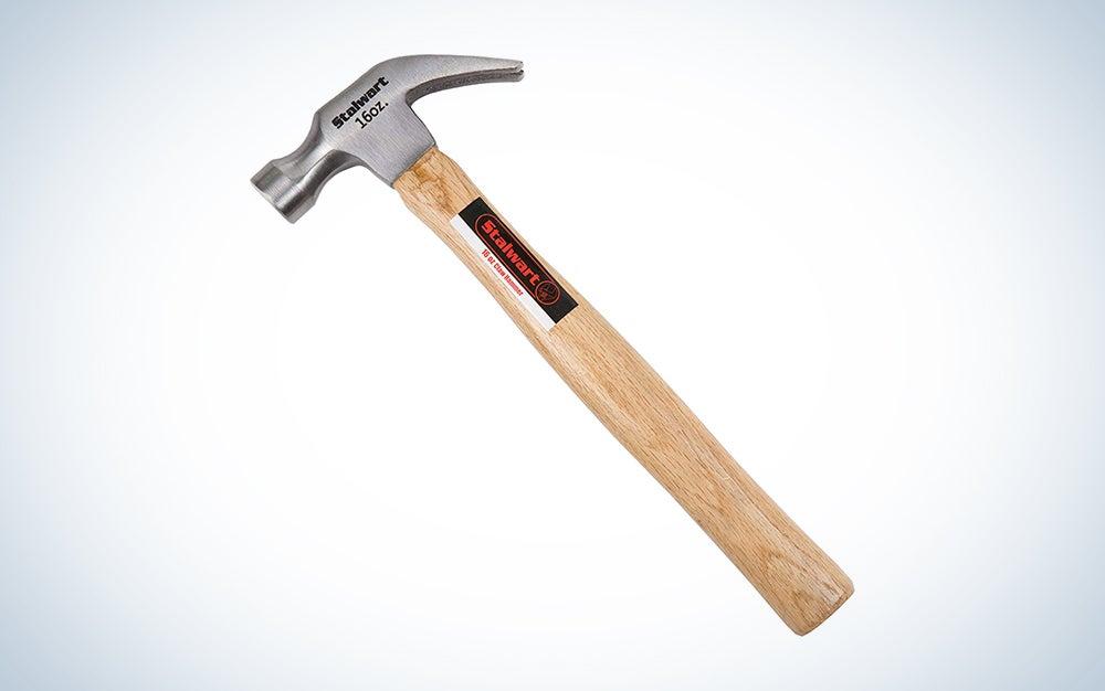 Stalwart Natural Hardwood Claw Hammer