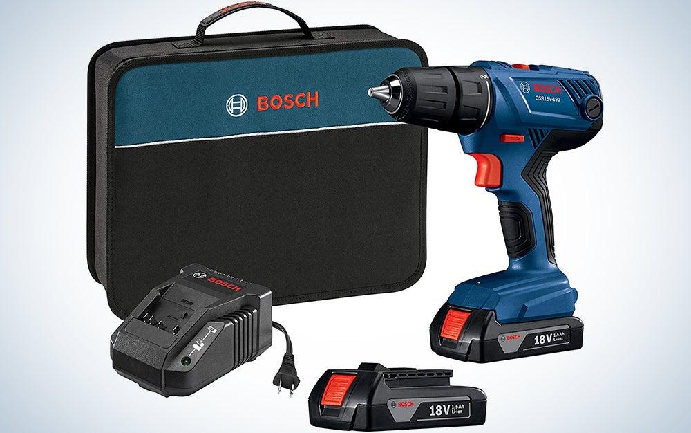 Bosch 18V Compact Drill, 1/2-inch