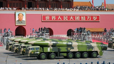China's missile force is growing at an unprecedented rate