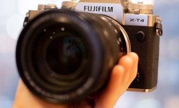 First shots with Fujifilm's X-T4 Mirrorless camera
